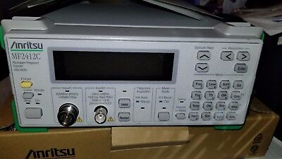 Anritsu MF2412C Microwave Frequency Counter 10Hz - 20 GHz