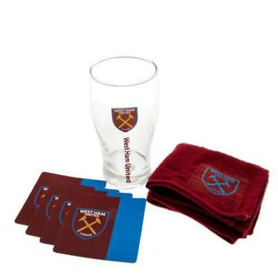 West Ham United FC Official Football Gift Mini Bar Set