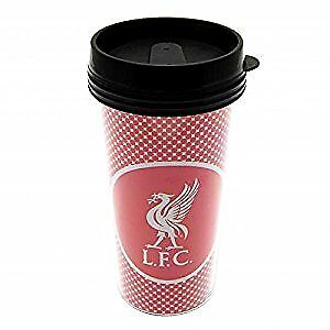 Liverpool FC Official Football Gift Plastic Travel Mug