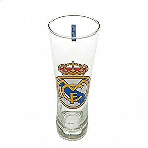 Real Madrid FC Official Football Gift Tall Beer Glass
