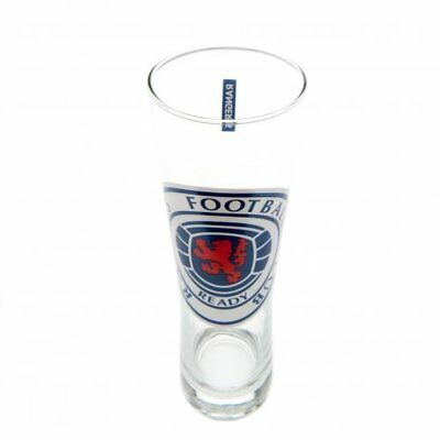 Rangers FC Official Football Gift Tall Beer Glass