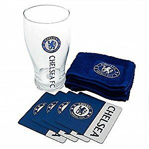 Chelsea FC Official Football Gift Mini Bar Set
