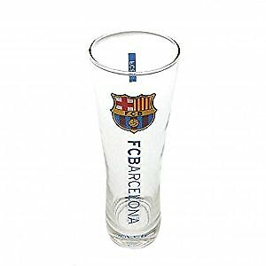 FC Barcelona Official Football Gift Tall Beer Glass