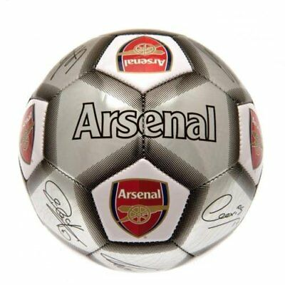 Arsenal FC Football Team Size 5 Player Signature Ball Birthday Christmas Gift