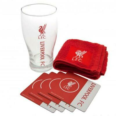 Liverpool FC Official Football Gift Mini Bar Set
