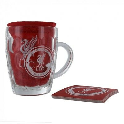 Liverpool FC Official Football Gift Glass Tankard