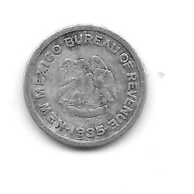 Tax Token 1935 New Mexico Emergency School Tax in Fine Condition