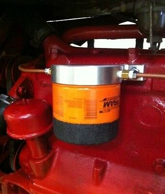 Ford 2N 9N 8N Spin On Oil Filter Adapter - Zero Mess-MADE IN USA