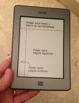 Ebook reader Kindle Touch amazon Perfecto Funcionamiento Wifi Ereader Reader