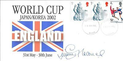 ENGLAND WORLD CUP 2002 POSTAL COVER - Signed by Jimmy Greaves