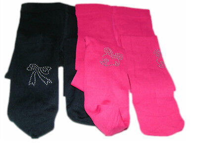 2-er SET Kinder Thermo Strumpfhose Winter Fleece Blickdicht Leggins Warm 86-128