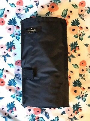 Kate Spade Diaper Changing Pad - Black - NEW