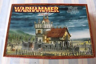 Games Workshop Warhammer Fortified Manor NIB Boxed Scenery Fantasy Sigmar Chapel