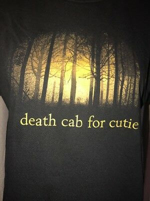 Death Cab For Cutie Let Me Give My Love To You Black Medium Slimfit T-shirt