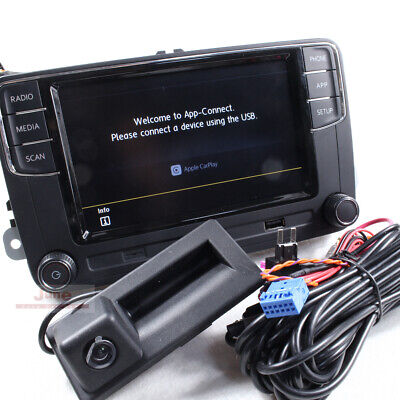 MIB 6.5'' Original CarPlay 187B + Camera + Time Delay Filter For Tiguan JETTA 6