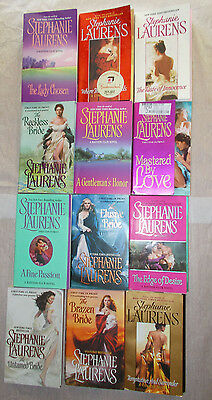 Stephanie Laurens 12 books,cynster,Bastion club,Black Cobra Quartet
