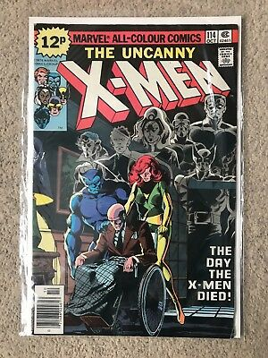 The Uncanny X-Men issue #114 - VF - first print - October 1978