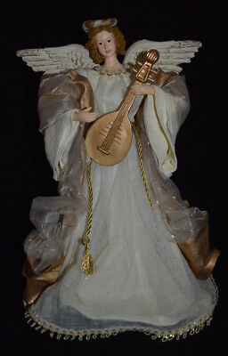 "NIB ""Kirkland Signature"" Fabric Mache Angel Centerpiece"