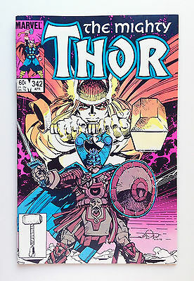 The Mighty Thor #342 (Apr 1984, Marvel)