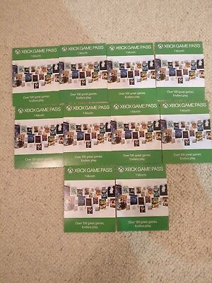 Xbox Game Pass 1 Month Subscription Code.