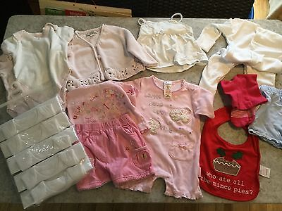 Brand New Bundle Of Baby Girl Clothes  - John Lewis - Ladybird - 3-6 months