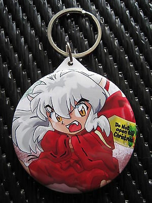 InuYasha Anime / Manga Mirrored Keychain & Cell Charm WINNER'S CHOICE