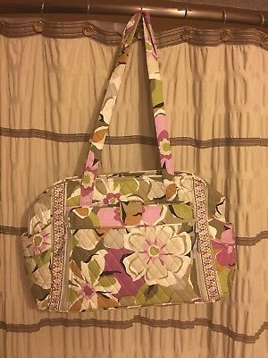 *NWT* Retired VERA BRADLEY *PORTOBELLO ROAD* LARGE DIAPER BAG WITH CHANGING PAD