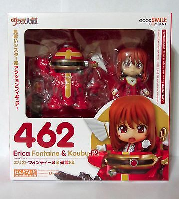 Nendoroid Erica Fontaine & Koubu-F2 462 Sakura Wars 3 Anime Good Smile Figure