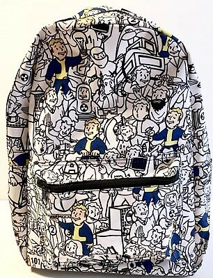 Fallout Vault Boy Collage Backpack