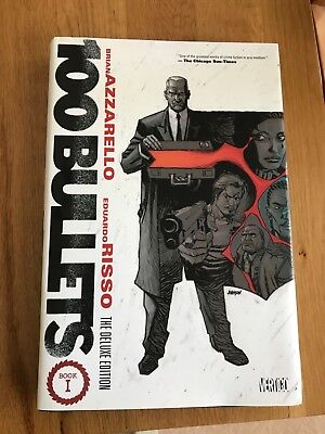 100 Bullets Deluxe 1 Hardcover. New