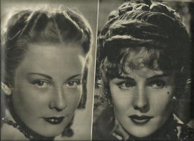 Film 32 10-8-1940 Maria Denis E Frances Farmer , Retro     Laura Adani