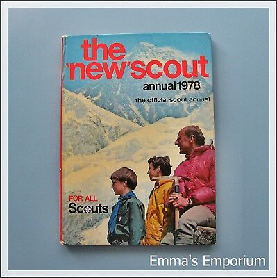 The 'New' SCOUT Annual 1978 - The Official Annual for All Scouts - Vintage Book