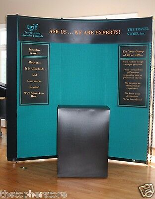Skyline Mirage Trade Show Travel Display Exhibit Popup Booth - Rolling Cases