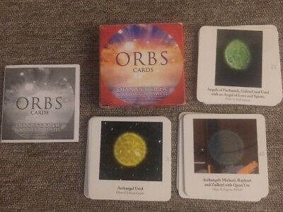 Orbs Cards Diana Cooper & Kathy Crosswell Complete with booklet