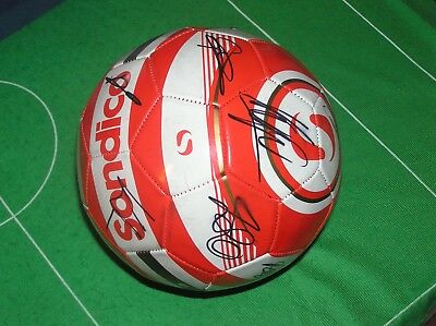 Liverpool FC 2017/18 Season Squad Signed Ball 14 Autographs! Klopp Coutinho