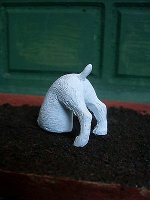 Dollshouse Miniature   ~ DIGGING DOG ~