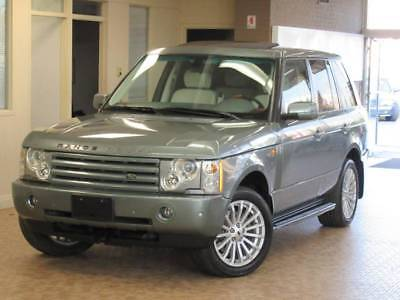 2005 Land Rover Range Rover HSE 4WD 4dr SUV 2005 Land Rover Range Rover HSE 4WD 4dr SUV 98093 Miles Gray SUV 4.4L V8 Automat