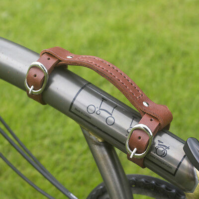 Leather Mini Carry Handle For BROMPTON Handgrip Bike Bicycle Frame Carrying