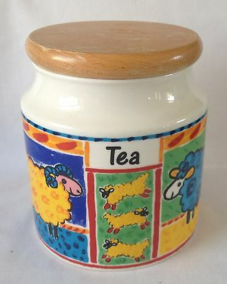 Dunoon Farmyard Tea Storage Jar and Lid
