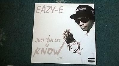 Eazy E Just To Let You Know/the Motherf***in Real12 Inch