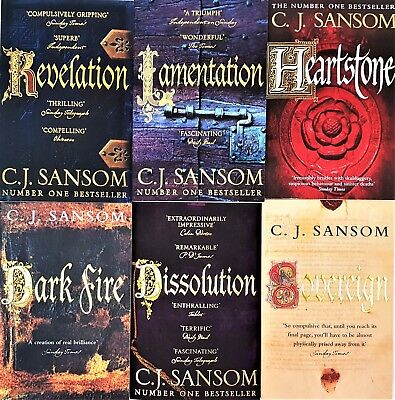 Shardlake Series 7 Books Collection Set By C. J. Sansom Heartstone,Dominion