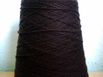 large skien 4 ply   schoolhouse brown knitting wool
