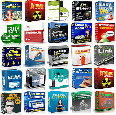 50 Internet Marketing Software W/ Master Resale Rights - Resell Sell Make Money!