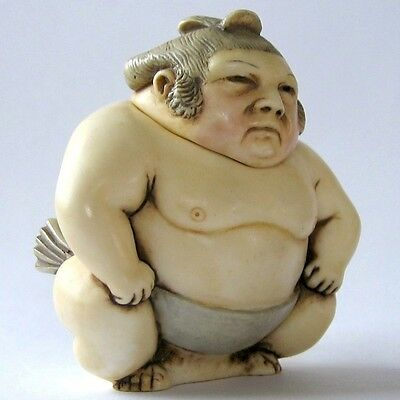 Great Grappler - Pot Bellys - NIB - Sumo Wrestler Figurine - MPS Harmony Kingdom