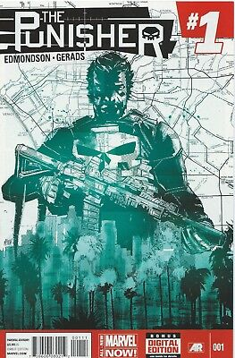 The Punisher #1 (2014) By Edmonson Nm
