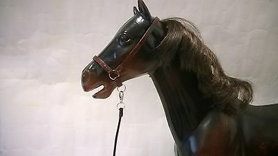Luxury Leather Halter for Sindy Horse
