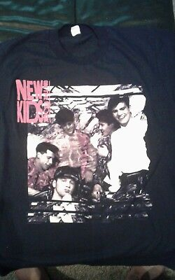 new kids on the block tshirt