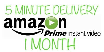 1 Month Amazon Prime Premium | 5 Minute Delivery | Trusted Seller