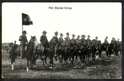 """Ww1 - Mounted """"the Signal Corps"""""""
