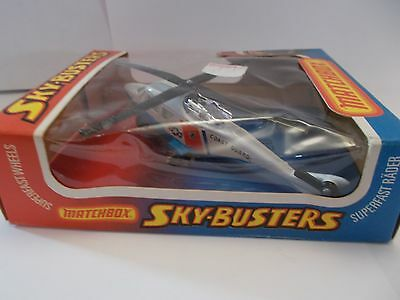 matchbox skybuster sb-20 coast guard helicopter 1977